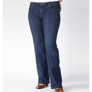 Levi's Perfectly Slimming 512 Bootcut Jeans 16M